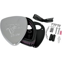 AIR CLEANER KIT BIG AIR (V95c.i.) CHROME