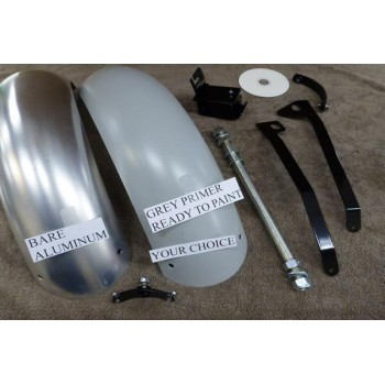 "11"" Seat and Fender Kit to Match Fender Mounted Light (Suzuki Savage S40)"