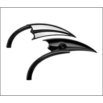Backspegel Ness-Tech Micro Die-Cast Scoop Triangle Black
