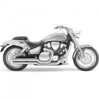 "Cobra Exhaust ""Speedster Short"" (Honda VTX1800/C/F '02-08)"