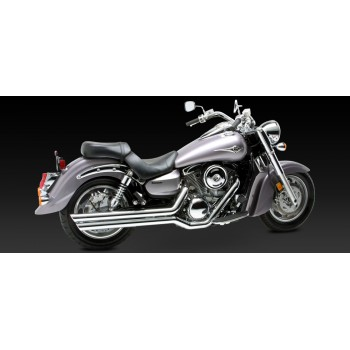 """V&H """"Big Shots Staggered"""" Exhaust (VN 1600 Vulcan Classic)"""