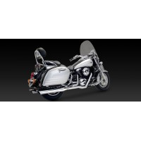 "V&H ""Bagger Slash-Cut Dual Exhaust (Kawasaki 1500/1600 Nomad '98-'08)"