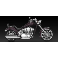 "Vance & Hines ""Twin Slash PC Slip-on"" (Honda Fury '09-'15)"