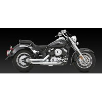 "Vance & Hines ""Shortshots Staggered"" Exhaust (Yamaha models)"