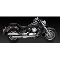 "Vance & Hines ""Classic II Cruiser"" Slip-on (Yamaha XVS1100 Dragstar '99-'09 / V-star 1100 '99-'09)"
