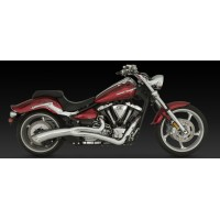 "V&H ""Big Radius 2-into-1"" Exhaust (Yamaha XV1900 Raider '08-15)"