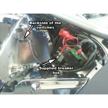 Air Ride System (Honda Fury / Honda Sabre 2010 -)