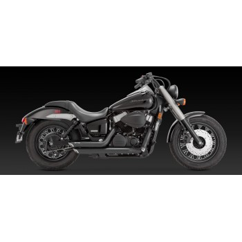 "Vance & Hines ""Shortshots Staggered"" Exhaust (Honda VT750)"