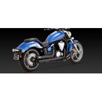 "Vance & Hines ""Twin Slash Staggered"" (Yamaha XVS1300 Custom Stryker 2011-2016)"