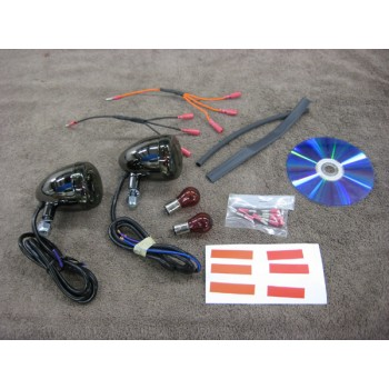 Fender Light & Signal Kit (Honda Spirit 750 Chain | Black Widow)