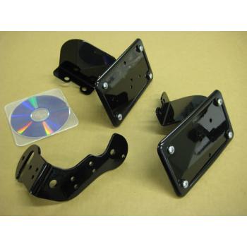 License (Vertical) / Tail Light Brackets (Honda Shadow Aero / Phantom)