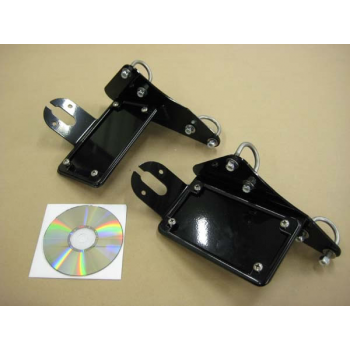 BCB License (Horizontal) / Tail Light Brackets (Honda 600 Shadow)