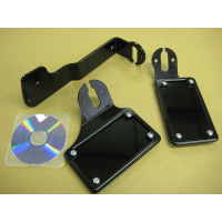 BCB License (Vertical) / Tail Light Brackets (Kawasaki Vulcan 900)