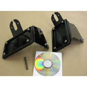 BCB License (Horizontal) / Tail Light Brackets (Kawasaki Vulcan 800)