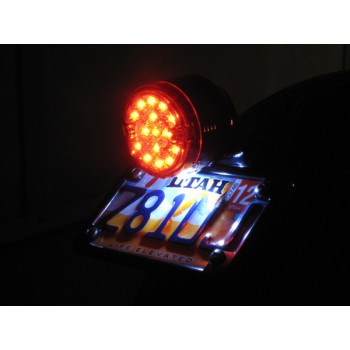 Fender Mount Tail Light (Yamaha XVS650 Dragstar/V-Star 650)