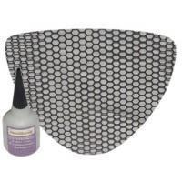 Honey Comb Screen for Chin Fairing (Kawasaki Mean Streak)