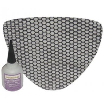 Honey Comb Screen for Chin Fairing (Kawasaki Mean Streak)