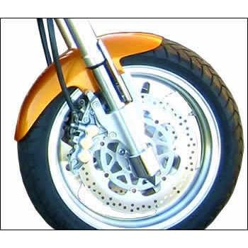 Shorty Front Fender (Kawasaki Mean Streak)