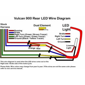 LED ke Light Kit (Kawasaki Vulcan 900) Kawasaki Motorcycles Wiring Diagram on