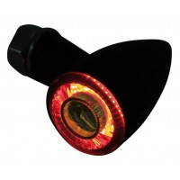 Highsider Apollo Bullet LED bakljus med blinkers