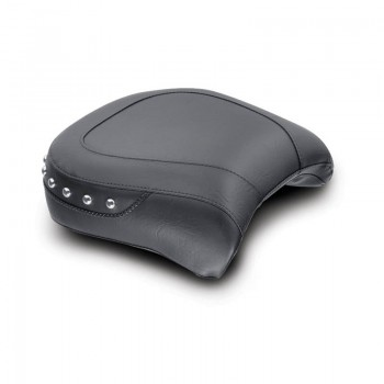 Mustang Wide Studded Touring Passenger seat without reciever for backrest (Honda Fury 2010-2013 )