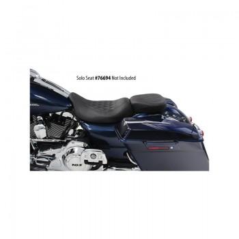 Mustang Wide Tripper™ Rear Seat Diamond Pattern (Harley-Davidson® FL TOURING '97-17)