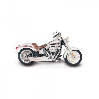 Mustang Wide Tripper™ Solo Diamond Brown (Harley-Davidson® FXST '06-10 & FLSTF '07-17 & FLSTSB '08-11)