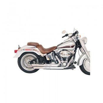 Mustang Wide Tripper™ Passenger Seat with detailed Stitch in Diamond Pattern (Harley-Davidson® FXST '06-10 & FLSTF '07-17 & FLSTSB '08-11)