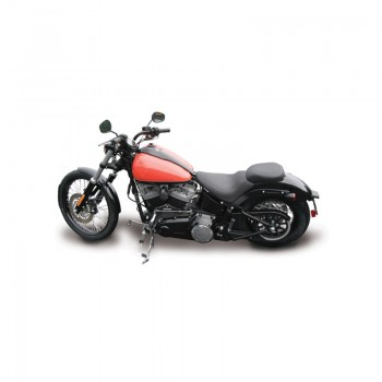 Mustang Wide Tripper™ Passenger Seat (Harley Davidson® Softail FXS Blackline '11-13 & FLS Slim '12-17)