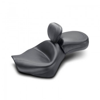 Mustang Wide Touring Two-Piece Vintage w. Driver Backrest (Honda VT750 Aero '04-09)