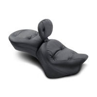 Mustang Wide One-piece Regal w. Driver Backrest (Yamaha Venture 1999-2013)