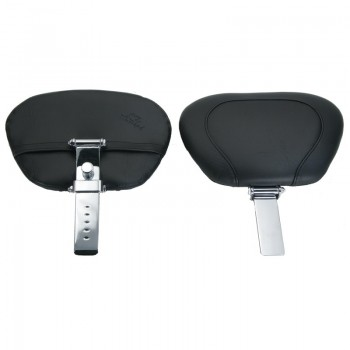 Mustang Wide Touring Vintage Passenger Backrest & Post only (Vaquero '11-13)