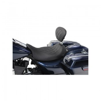 Mustang Wide Tripper™ Solo Diamond Pattern (Harley-Davidson® FL TOURING '08-17)