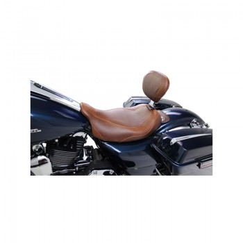 Mustang Wide Tripper™ Solo, Distressed Brown (Harley-Davidson® FL TOURING '08-17)