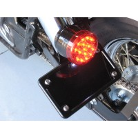 Horizontal License/Tail Light Brackets (Honda Ace 750)
