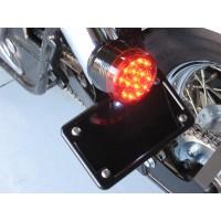Horizontal License/Tail Light Brackets (Honda Ace 750)