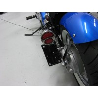 Vertical License/Tail Light Brackets (Honda Ace 750)