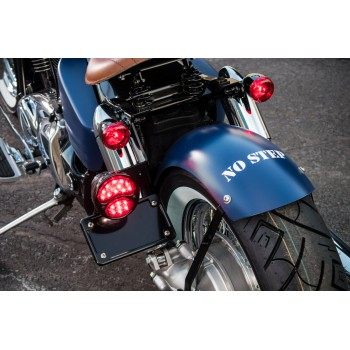 BCB Horizontal License Bracket (Honda VT1100C Shadow / Spirit 1100)