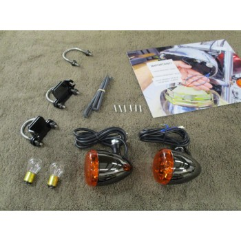 1929 Ford Front Light Kit (Honda VTX 1300 C)