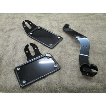 BCB License (Horizontal) / Tail Light Brackets (Honda VTX1300 C)