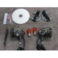 Front Light Kit Black Nickel (Kawasaki Vulcan 900 Custom)