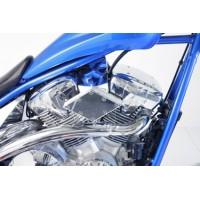 Diamond Billet Air Cleaner (Honda Fury / Honda Customline / Yamaha XVS950 & XVS1300 Midnightstar / Yamaha Stryker)