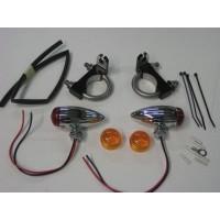 Front Signal Light Kit (Honda 750 Spirit)