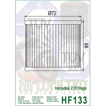 HiFlo HF133