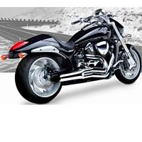 HardKrome Sideburner 2-1 Chrome (Suzuki M109R|M1800R '06-17)