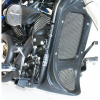 Honey Comb Screens for Chin Radiator Shroud (Kawasaki Vulcan 900)