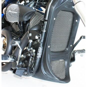 Honey Comb Screens for Chin Radiator Shroud (Kawasaki Vulcan 900)