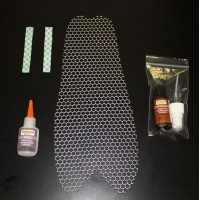 Honey Comb Screen for Chin Fairing (Yamaha XV950 Bolt)