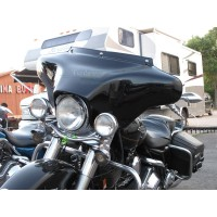 """Batwing 6x9 Fairing with Full Stereo (6"""" x 9"""" Waterproof Speakers)"""