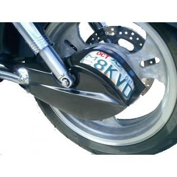 Shaft Drive Cover with License plate holder (Suzuki Marauder / M95)